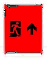 Running Man Fire Safety Exit Sign Emergency Evacuation Apple iPad Tablet Case 53