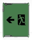 Running Man Fire Safety Exit Sign Emergency Evacuation Apple iPad Tablet Case 84