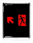 Running Man Fire Safety Exit Sign Emergency Evacuation Apple iPad Tablet Case 90