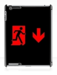 Running Man Fire Safety Exit Sign Emergency Evacuation Apple iPad Tablet Case 93
