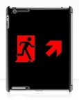 Running Man Fire Safety Exit Sign Emergency Evacuation Apple iPad Tablet Case 96
