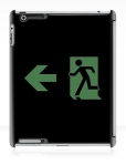 Running Man Fire Safety Exit Sign Emergency Evacuation Apple iPad Tablet Case 99