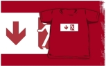 Running Man Fire Safety Exit Sign Emergency Evacuation Kids T-Shirt 3