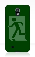 Running Man Fire Safety Exit Sign Emergency Evacuation Samsung Galaxy Mobile Phone Case 121