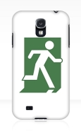 Running Man Fire Safety Exit Sign Emergency Evacuation Samsung Galaxy Mobile Phone Case 14