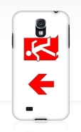Running Man Fire Safety Exit Sign Emergency Evacuation Samsung Galaxy Mobile Phone Case 151