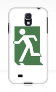 Running Man Fire Safety Exit Sign Emergency Evacuation Samsung Galaxy Mobile Phone Case 20