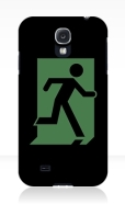 Running Man Fire Safety Exit Sign Emergency Evacuation Samsung Galaxy Mobile Phone Case 27