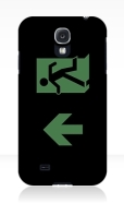 Running Man Fire Safety Exit Sign Emergency Evacuation Samsung Galaxy Mobile Phone Case 28