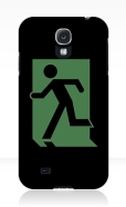 Running Man Fire Safety Exit Sign Emergency Evacuation Samsung Galaxy Mobile Phone Case 33