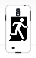 Running Man Fire Safety Exit Sign Emergency Evacuation Samsung Galaxy Mobile Phone Case 40