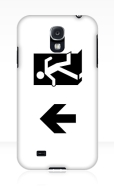 Running Man Fire Safety Exit Sign Emergency Evacuation Samsung Galaxy Mobile Phone Case 41
