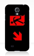 Running Man Fire Safety Exit Sign Emergency Evacuation Samsung Galaxy Mobile Phone Case 5