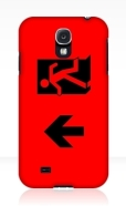 Running Man Fire Safety Exit Sign Emergency Evacuation Samsung Galaxy Mobile Phone Case 54
