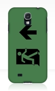 Running Man Fire Safety Exit Sign Emergency Evacuation Samsung Galaxy Mobile Phone Case 61