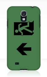 Running Man Fire Safety Exit Sign Emergency Evacuation Samsung Galaxy Mobile Phone Case 66