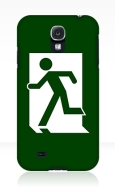 Running Man Fire Safety Exit Sign Emergency Evacuation Samsung Galaxy Mobile Phone Case 82