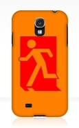 Running Man Fire Safety Exit Sign Emergency Evacuation Samsung Galaxy Mobile Phone Case 88