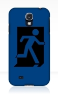 Running Man Fire Safety Exit Sign Emergency Evacuation Samsung Galaxy Mobile Phone Case 94