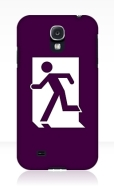 Running Man Fire Safety Exit Sign Emergency Evacuation Samsung Galaxy Mobile Phone Case 97