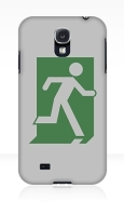 Running Man Fire Safety Exit Sign Emergency Evacuation Samsung Galaxy Mobile Phone Case 99