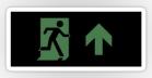 Running Man Fire Safety Exit Sign Emergency Evacuation Sticker Decals 104