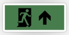 Running Man Fire Safety Exit Sign Emergency Evacuation Sticker Decals 19