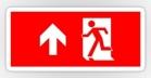 Running Man Fire Safety Exit Sign Emergency Evacuation Sticker Decals 23