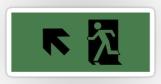 Running Man Fire Safety Exit Sign Emergency Evacuation Sticker Decals 27
