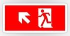 Running Man Fire Safety Exit Sign Emergency Evacuation Sticker Decals 33