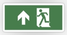 Running Man Fire Safety Exit Sign Emergency Evacuation Sticker Decals 45