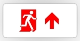Running Man Fire Safety Exit Sign Emergency Evacuation Sticker Decals 65