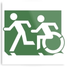 Accessible Exit Sign Project Means of Egress Icon 64