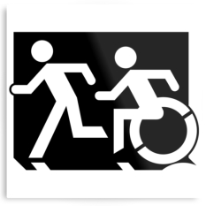 Accessible Exit Sign Project Means of Egress Icon 66