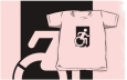 Accessible Exit Sign Project Wheelchair Wheelie Running Man Symbol Means of Egress Icon Disability Emergency Evacuation Fire Safety Kids T-shirts 105