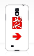 Accessible Exit Sign Project Wheelchair Wheelie Running Man Symbol Means of Egress Icon Disability Emergency Evacuation Fire Safety Samsung Galaxy Case 130