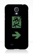 Accessible Exit Sign Project Wheelchair Wheelie Running Man Symbol Means of Egress Icon Disability Emergency Evacuation Fire Safety Samsung Galaxy Case 44