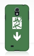 Accessible Exit Sign Project Wheelchair Wheelie Running Man Symbol Means of Egress Icon Disability Emergency Evacuation Fire Safety Samsung Galaxy Case 6