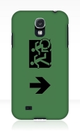 Accessible Exit Sign Project Wheelchair Wheelie Running Man Symbol Means of Egress Icon Disability Emergency Evacuation Fire Safety Samsung Galaxy Case 76