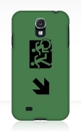 Accessible Exit Sign Project Wheelchair Wheelie Running Man Symbol Means of Egress Icon Disability Emergency Evacuation Fire Safety Samsung Galaxy Case 77
