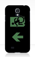 Accessible Exit Sign Project Wheelchair Wheelie Running Man Symbol Means of Egress Icon Disability Emergency Evacuation Fire Safety Samsung Galaxy Case 85