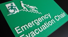 Accessible Exit Sign Project Emergency Evacuation Chair