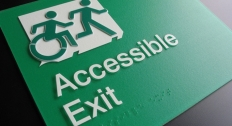 Accessible Exit Sign Project Exit Sign