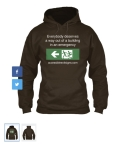 Accessible Exit Sign Project Hoodie