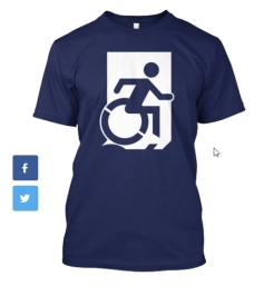 Accessible Exit Sign Project fundraiser shirts (12)