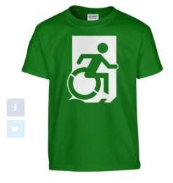 Accessible Exit Sign Project fundraiser shirts (14)