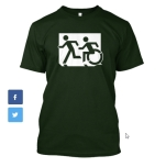 Accessible Exit Sign Project fundraiser shirts (16)