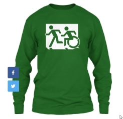 Accessible Exit Sign Project fundraiser shirts (17)