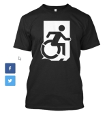 Accessible Exit Sign Project fundraiser shirts (2)