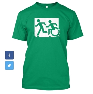 Accessible Exit Sign Project fundraiser shirts (24)